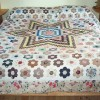 Restored Victorian Quilt - replaced patches to match